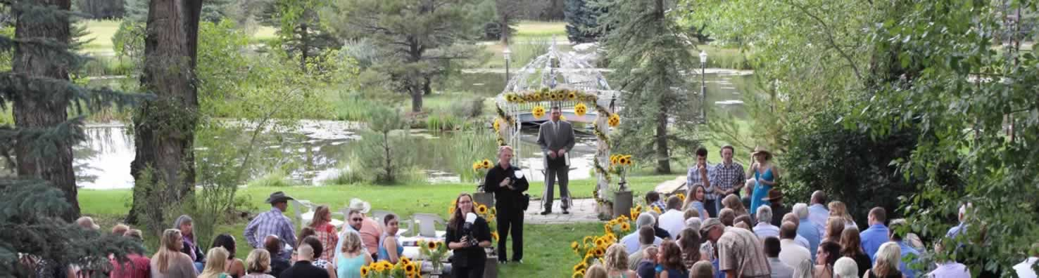Outdoor Cowboy Wedding